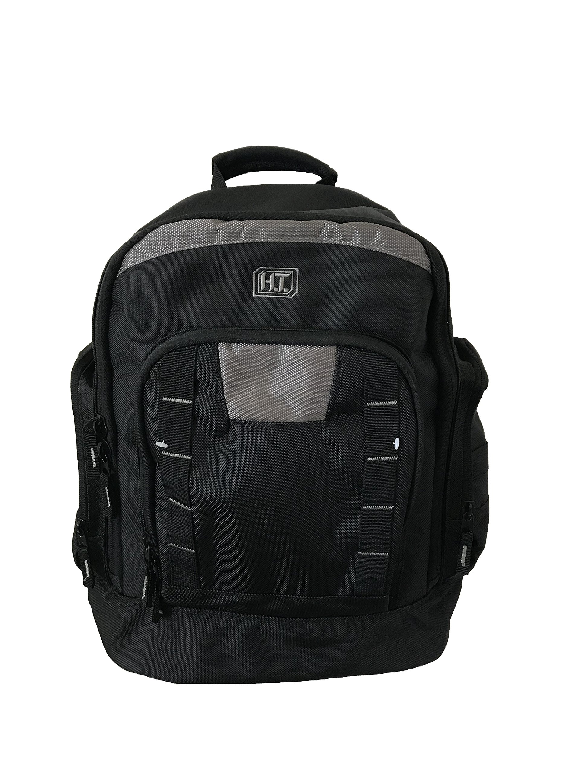 Highland Tactical Men's Extreme Tool Backpack Black