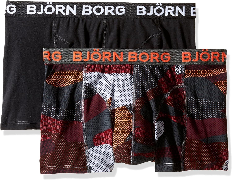 Bjorn Borg Mens 2-Pack Contast Camo Boxer Brief