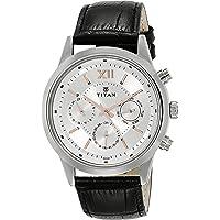 Titan Neo Analog Silver Dial Men's Watch - 1766SL04