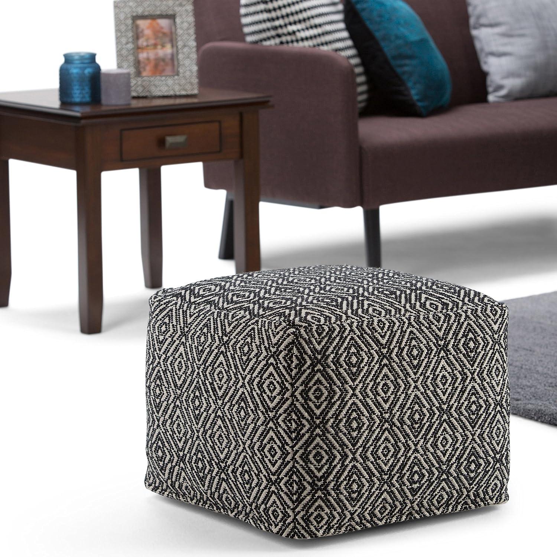 Pleasing Amazon Com Simpli Home Axcpf 03 Graham Transitional Square Short Links Chair Design For Home Short Linksinfo