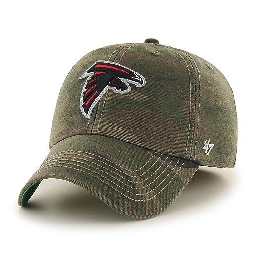 b633628c8ccd5a NFL Atlanta Falcons Harlan Franchise Fitted Hat, Medium, Sandalwood