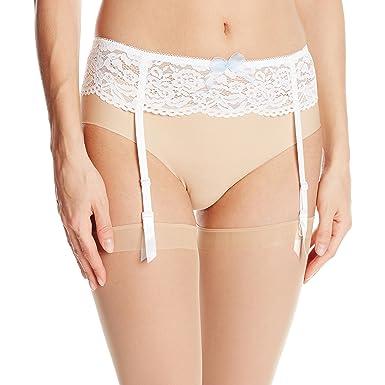30ff65e993 Amazon.com  b.tempt d by Wacoal Women s Ciao Bella Garter Belt  Clothing