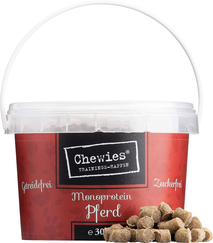 Chewies - Golosinas de Entrenamiento monoproteína para Perros, sin Cereales ni azúcar, Suaves e hipoalergénicas