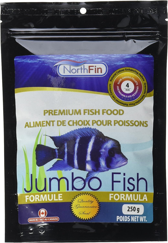 Northfin Food Jumbo Formula 4Mm Pellet 250 Gram Package