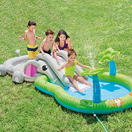 Amazon.com: Intex Centro de juego con piscina inflable ...