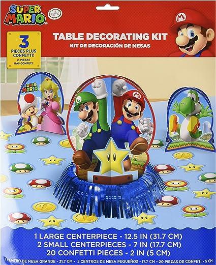 20/Unidades Amscan Servilletas Super Mario