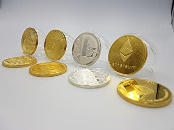 Rosetta Brands 4 Crypto Währung Münzen Bitcoin Litecoin Ethereum