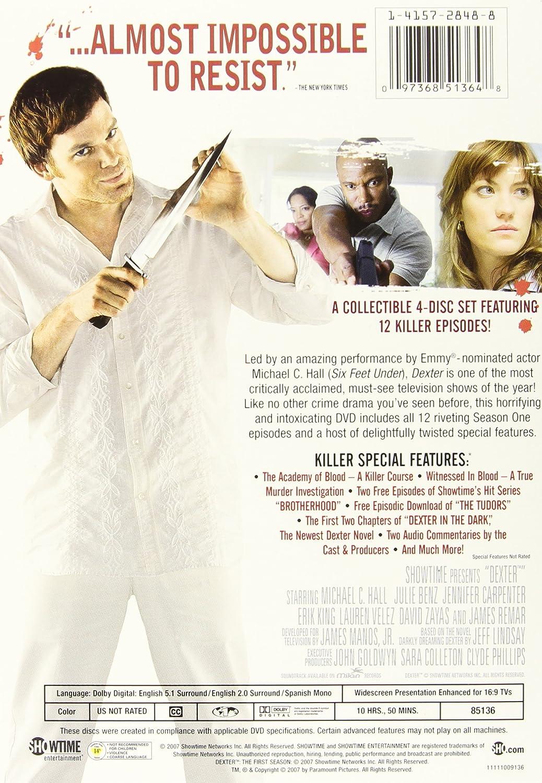 Amazon com: Dexter: Season 1: Michael C  Hall, Erik King
