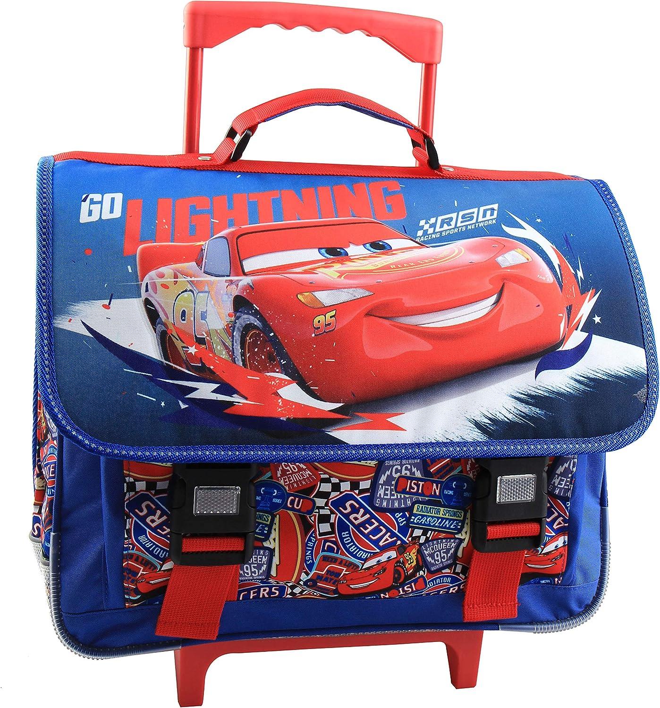 41 cm Disney Cars Cartable Jacob /& Co Red