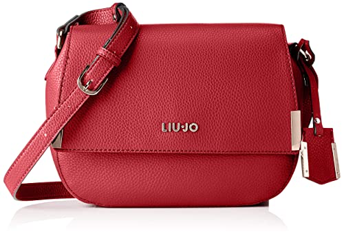 LIU JO Isola Crossbody S Red  Amazon.it  Scarpe e borse 27461a4ac6e