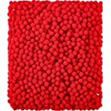 Shappy 2000 Pieces 6 mm Pom Poms for Craft Making, Hobby Supplies and DIY Creative Crafts Decorations (Red)
