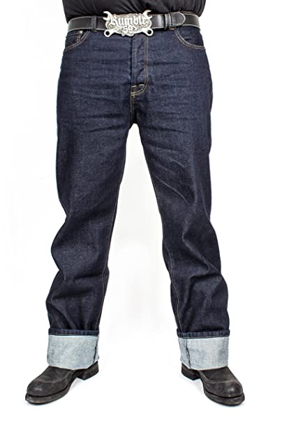 Rum ble59 Hombre Jeans - greasers Oro Azul Azul Oscuro ...