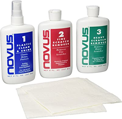 Novus 7100 Plastic Polish Kit