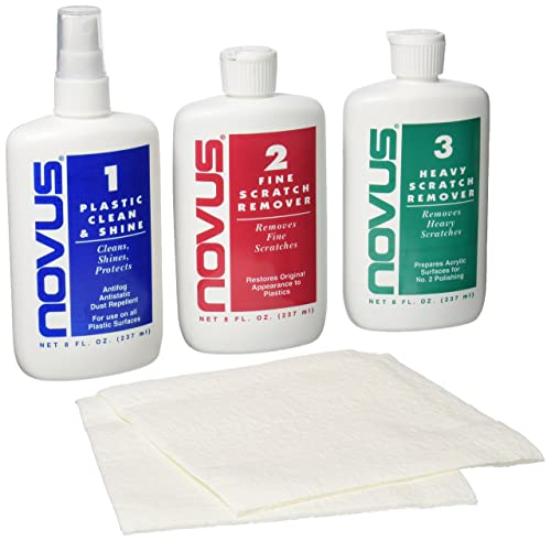 Novus 7199 Plastic Polish Kit