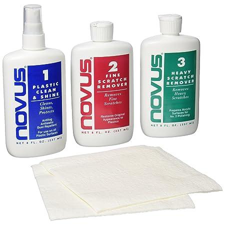 Novus plastic polish kit