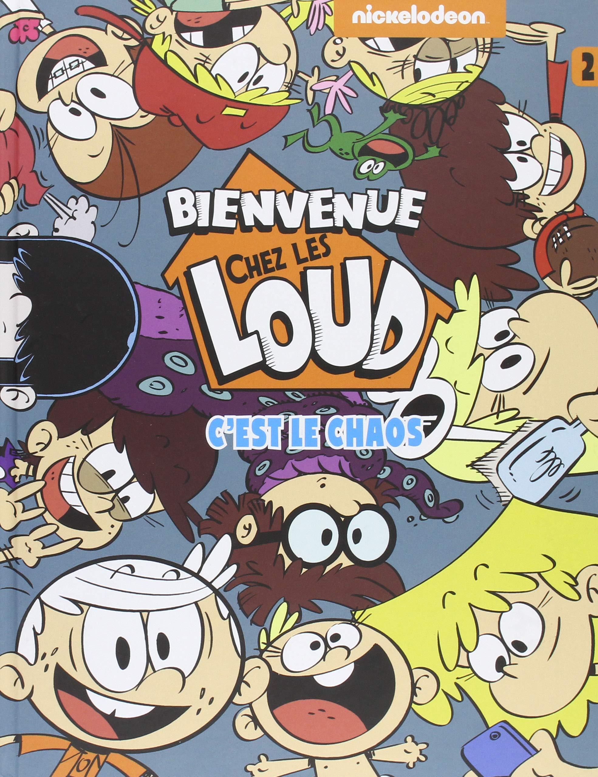 Bienvenue Chez Les Loud Tome 2 9782012905146 Amazon Com