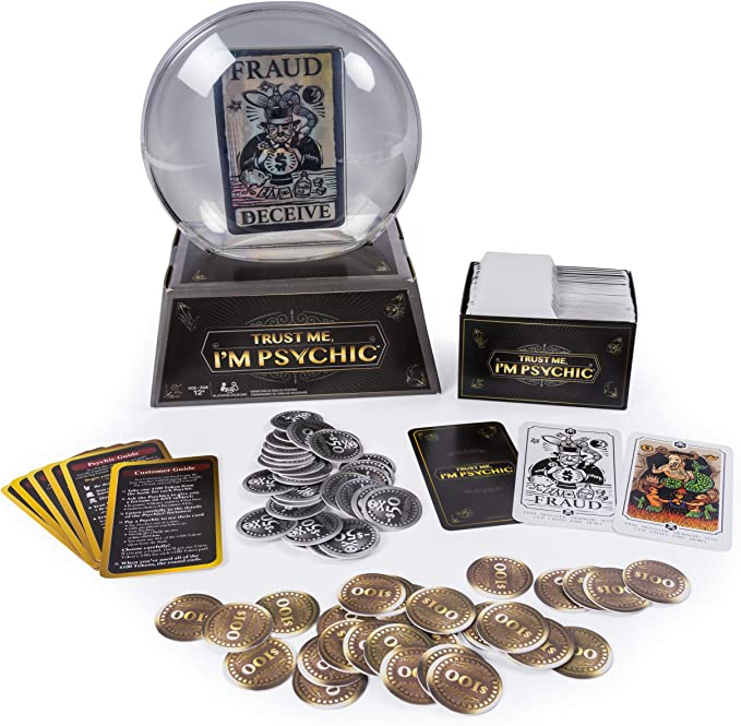 "I/'m Psychic/"" Fortune Telling Party Game-Game Cards Only Spin Masters /""Trust Me"