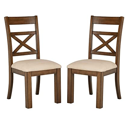 Amazon.com: Stone & Beam Alejandra Casual Wood Dining Chair ...