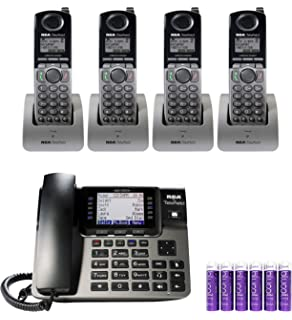 fabd15ea474 RCA U1000 Unison 4-Line Expandable Phone System - Full-Duplex Speakerphone  Bundle with
