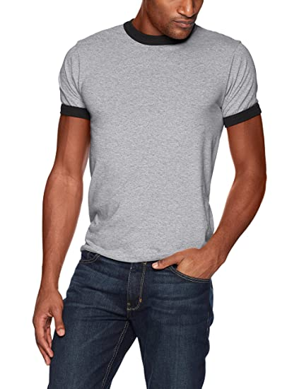 300f7a01 Amazon.com: Augusta Sportswear Mens Ringer Tee Shirt: Clothing