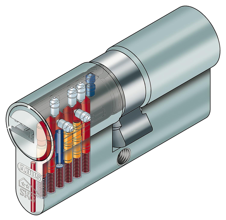 Hinweistext von SN-Geb/äudetechnik GbR beachten ! BKS Profilzylinder PZ 8812 Baul/änge 45//75 mit Gefahrenfunktion auch Gleichschlie/ßend m/öglich