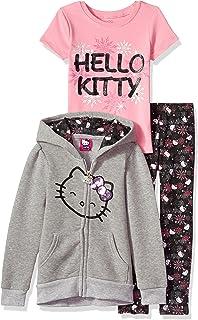 Hello Kitty Baby Girls Gray Sweatshirt Size 4 Years In Great Shape!! Tops & T-shirts Girls' Clothing (newborn-5t)