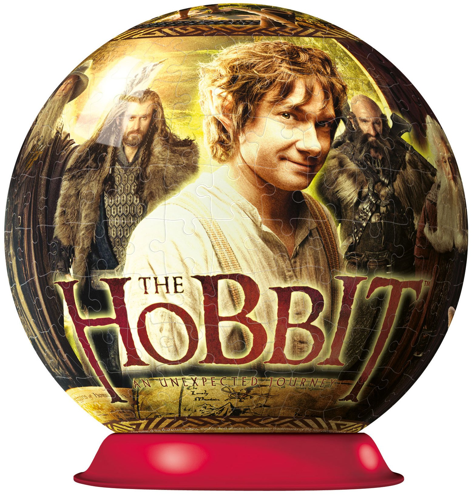 The Hobbit 3D Puzzle, 270-Piece