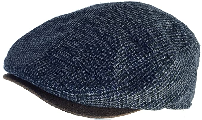ffd14695bf8 DPC Hounds Tooth Ivy Scally Cap (Black - Small   Medium) at Amazon Men s  Clothing store