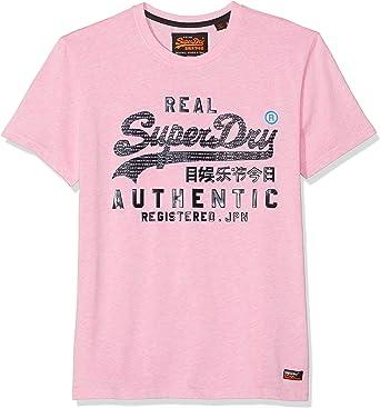 Superdry Vintage Authentic Pastel tee Camiseta para Hombre: Amazon.es: Ropa y accesorios
