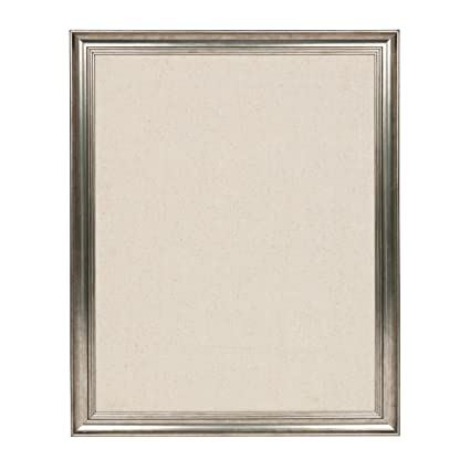 Amazon.com : DesignOvation Macon Framed Linen Fabric Pinboard, 23x29 ...