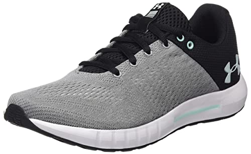 d07b9e546b1bf Under Armour Women's Ua W Micro G Pursuit Competition Running Shoes, Grey  (Steel), 6.5 UK