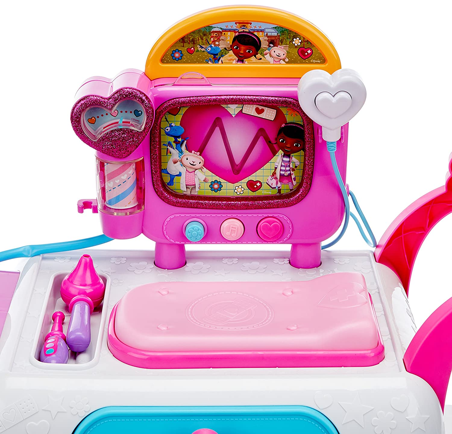 Amazon.com: Doc McStuffins Doc Mcstuffins Hospital Care Cart Toy: Toys & Games
