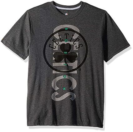 4069670bd93b Amazon.com   UNK NBA Men s T-Shirt Upright Logo Short Sleeve Tee ...
