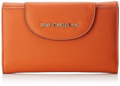 vente chaude en ligne dd3ec bc00a Mac Douglas femme Gondole Brya U Portefeuille Orange (Orange ...