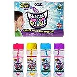 Lick-A-Bubble Create Flavored Bubbles, 4 Pack