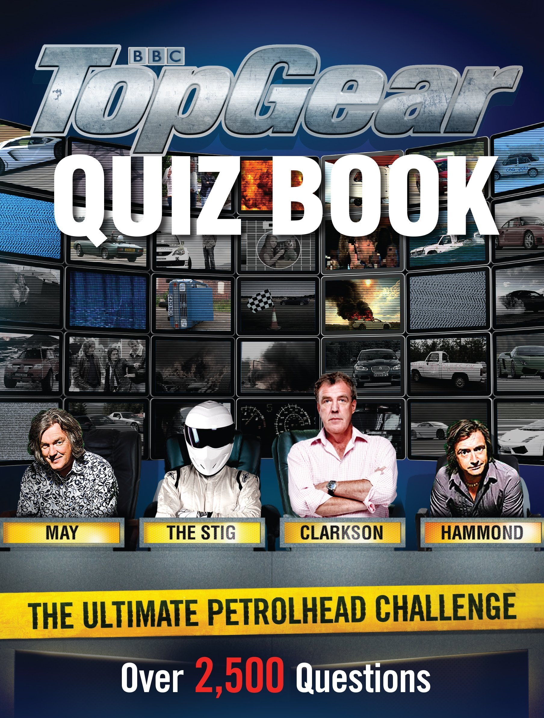 Top Gear Quiz Book by BBC Books
