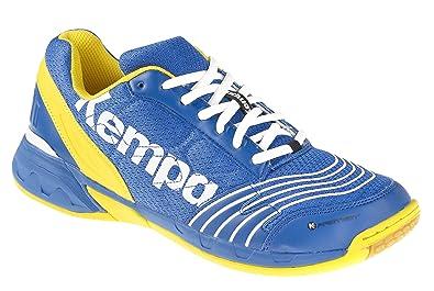 5c2cbe9d4f7a2 Kempa Attack Three, Chaussures de Handball Mixte Adulte, Multicolore (Bleu  Roi Blaz