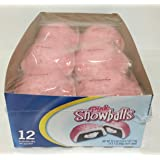 12 Pack of Pink Snow Balls Snack Cakes