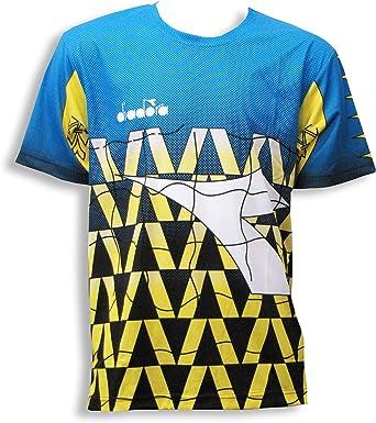 Diadora Grinta short-sleeve soccer goalkeeper jersey