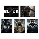 Amazon Price History for:Black Panther (2018) Poster Prints - Set of Five Avengers Marvel Comics Wakanda Decor Wall Art Photos 8x10 T'Challa - Killmonger - Nakia