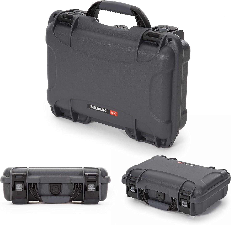 Nanuk 909 Waterproof Glock Pistol Hard Case