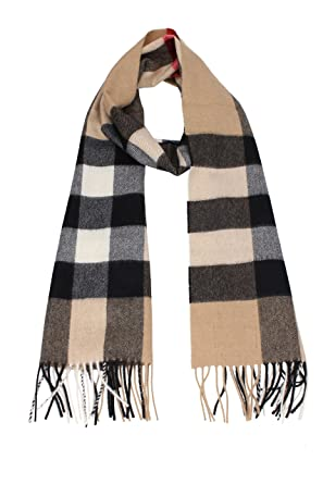 official photos online shop new cheap Amazon.com: Burberry The Large Classic Cashmere Scarf in ...