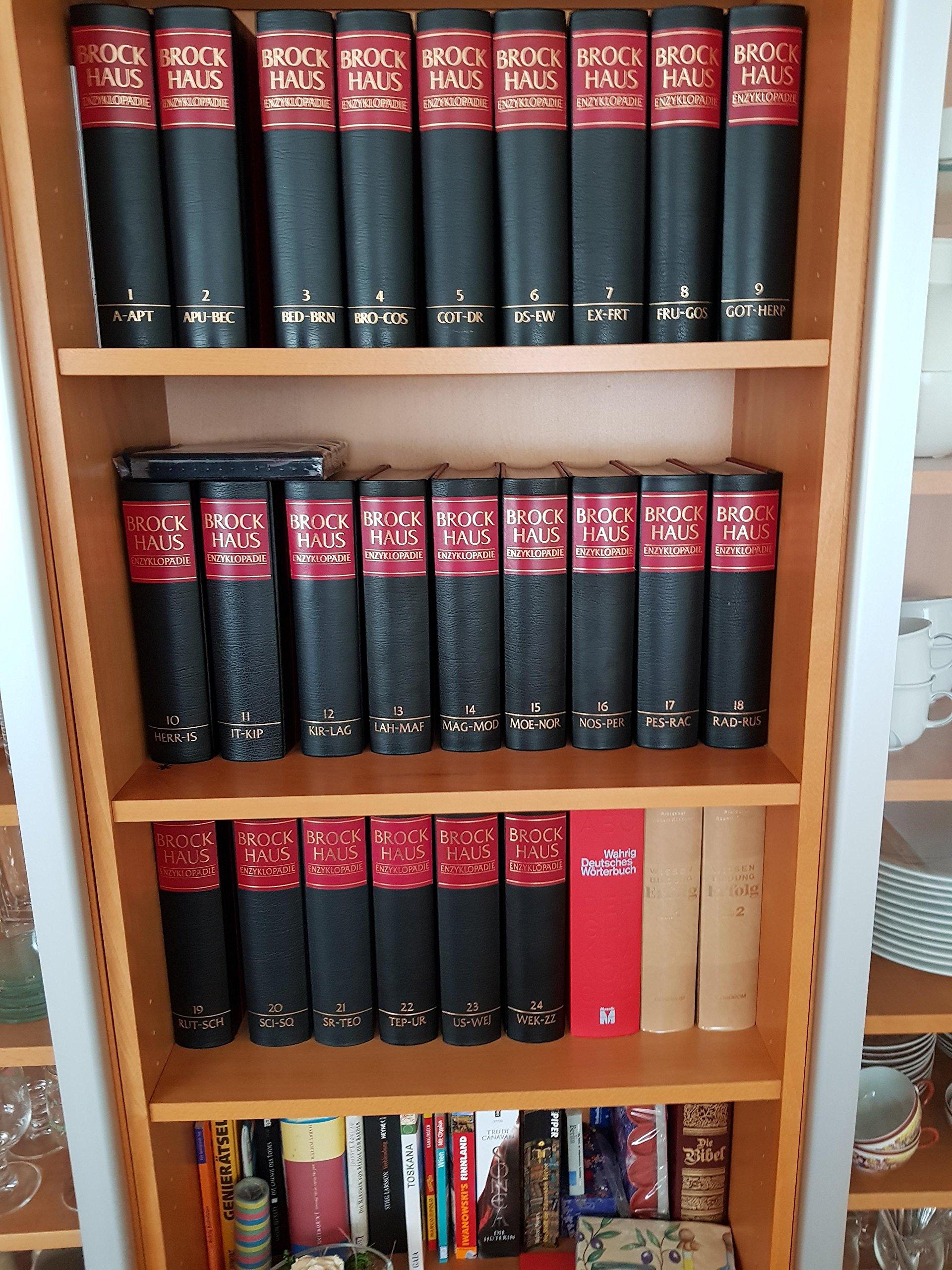 Brockhaus Enzyklopädie in 24 Bänden / Pflichtfortsetzung Band 1-24: Brockhaus Enzyklopädie, 24 Bände