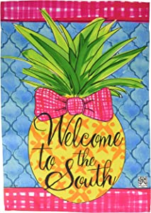 Carson Home Accents FlagTrends 46953 Southern Pineapple Classic Outdoor Garden Flag