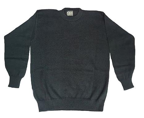 614c06d58 Alpakaandmore Mens 100% Baby Alpaca Wool Sweater Jumper at Amazon ...