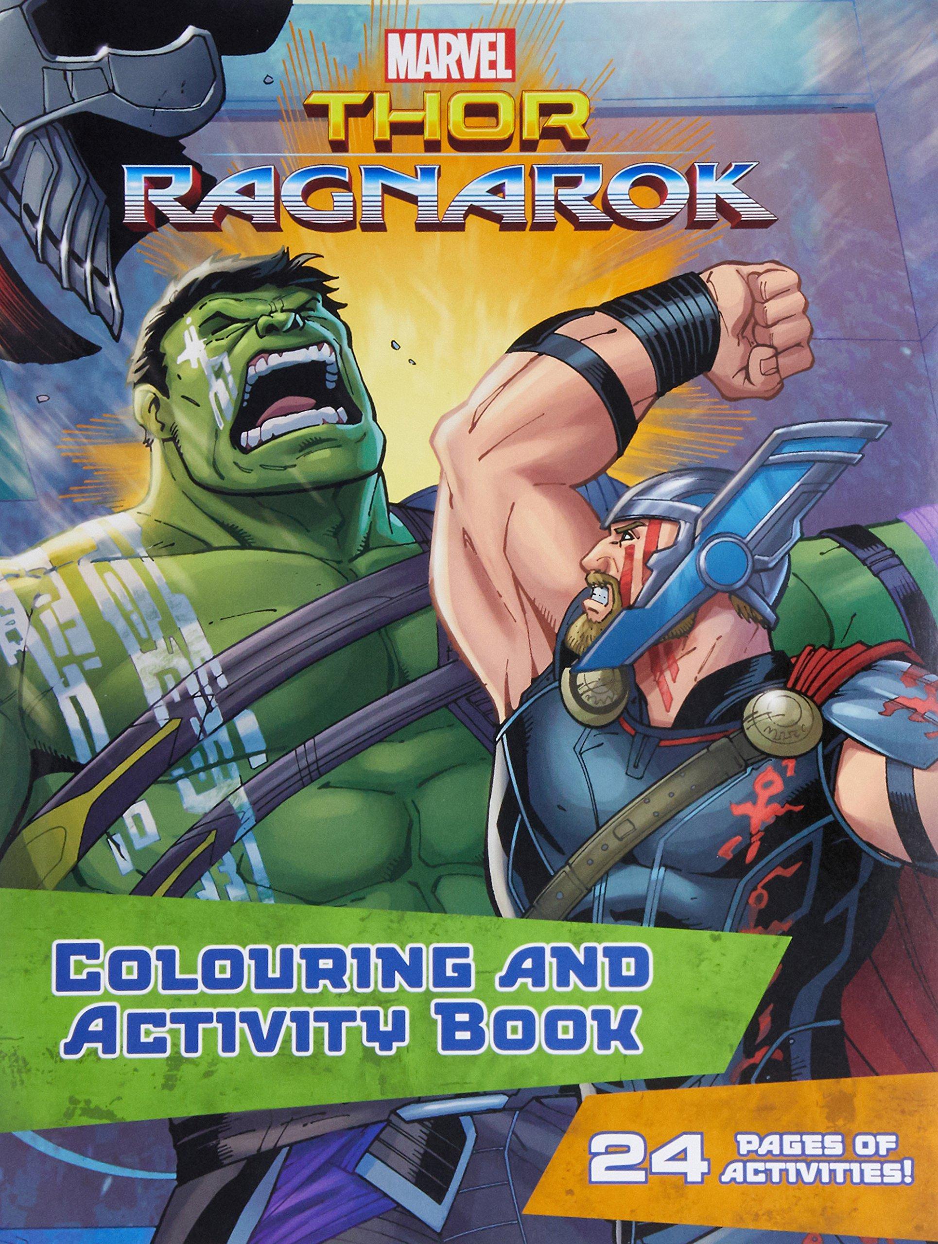 Marvel Thor Ragnarok Colouring Activity Book