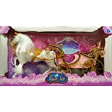 barbie b2662 schwanensee einhorn lila kutsche amazon. Black Bedroom Furniture Sets. Home Design Ideas