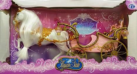 Speelgoed S6381 207B, caballo con carro