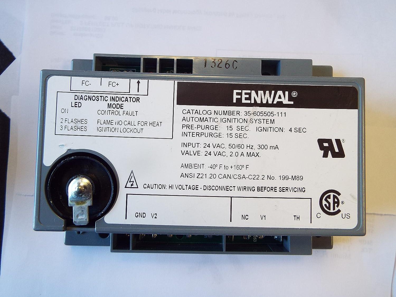 fenwal ignition module wiring diagram fenwal controls 35652505003 ignition module  wtr pik laars amazon  ignition module  wtr pik laars