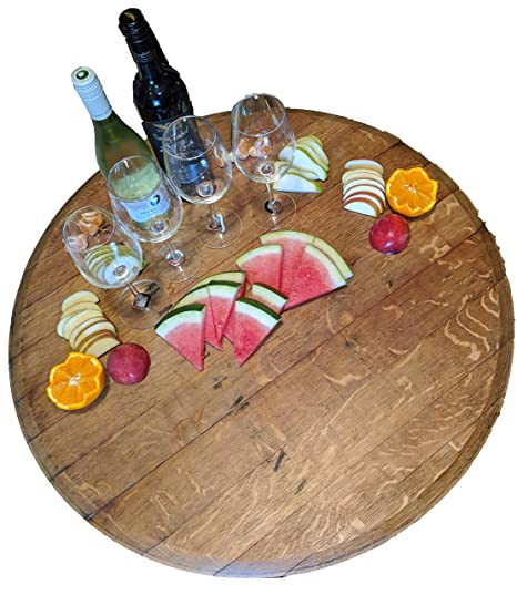 Large Lazy Susan Made From Red Wine Barrel Top Wood Amazoncomau